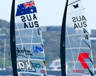 Outteridge & Babbage-2015 MOTH WORLDS - Day 2