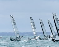 Upwind-2015 MOTH WORLDS - Day 6